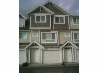 Photo 1: 46A 7298 199A Street in LANGLEY: Willoughby Heights Townhouse for sale (Langley)  : MLS®# F1411623