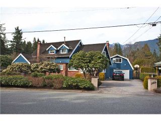 "Photo 1: 1282 RYDAL Avenue in North Vancouver: Canyon Heights NV House for sale in ""CANYON HEIGHTS"" : MLS®# V999856"