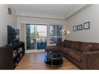 """Photo 4: 322 9655 KING GEORGE Boulevard in Surrey: Whalley Condo for sale in """"GRUV"""" (North Surrey)  : MLS®# R2134761"""