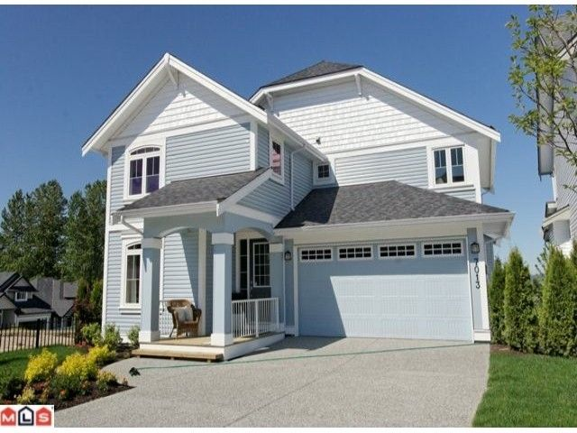 """Main Photo: 7013 178th Street in Surrey: Cloverdale BC House for sale in """"SADDLE CREEK AT PROVINCETON"""" : MLS®# F1014813"""