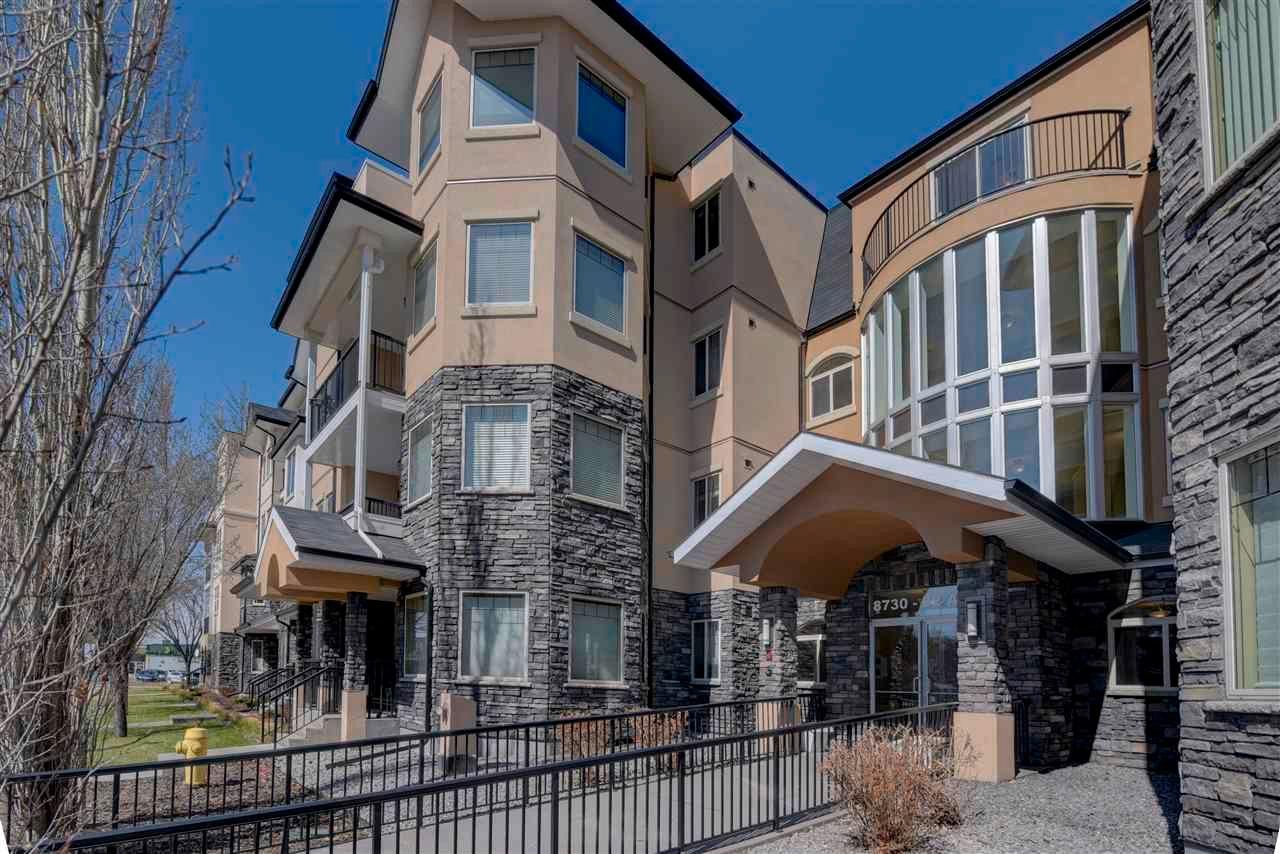 Main Photo: 306 8730 82 Avenue in Edmonton: Zone 18 Condo for sale : MLS®# E4265506