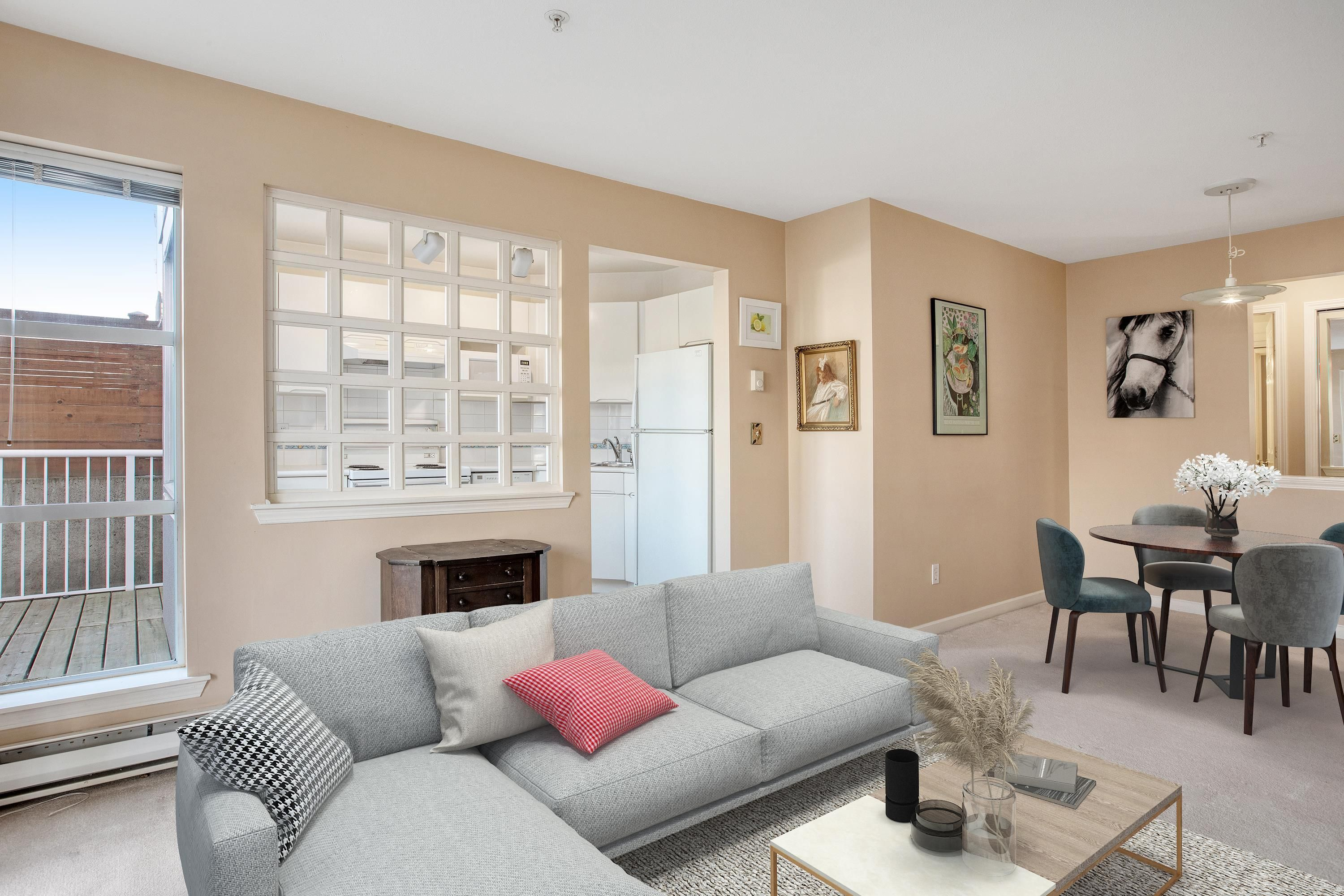 """Main Photo: 206 1333 W 7TH Avenue in Vancouver: Fairview VW Condo for sale in """"Windgate Encore"""" (Vancouver West)  : MLS®# R2621797"""