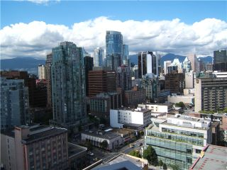"""Photo 6: 2306 1255 SEYMOUR Street in Vancouver: Downtown VW Condo for sale in """"ELAN"""" (Vancouver West)  : MLS®# V839228"""