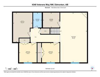 Photo 34: 4348 VETERANS Way in Edmonton: Zone 27 House Half Duplex for sale : MLS®# E4228531