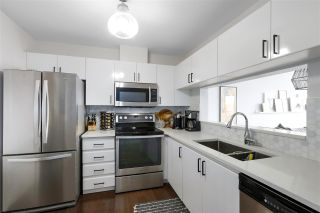 """Photo 10: 210 8430 JELLICOE Street in Vancouver: South Marine Condo for sale in """"BOARDWALK"""" (Vancouver East)  : MLS®# R2453487"""
