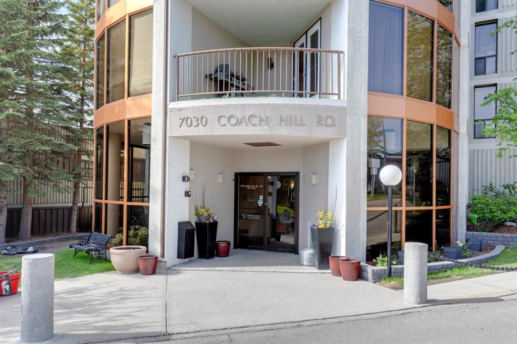 Main Photo: 362 7030 Coach Hill Road SW in Calgary: Coach Hill Apartment for sale : MLS®# A1152686
