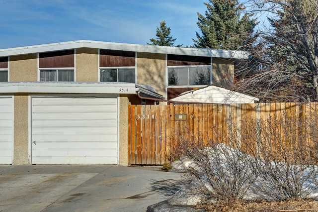 Main Photo: 5314 32 Avenue NW in CALGARY: Varsity Village Residential Attached for sale (Calgary)  : MLS®# C3597665