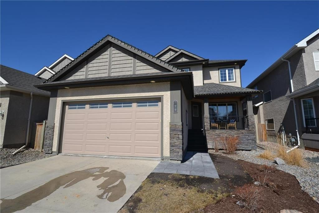 Main Photo: 79 Dragonfly Court in Winnipeg: Sage Creek Residential for sale (2K)  : MLS®# 202107228