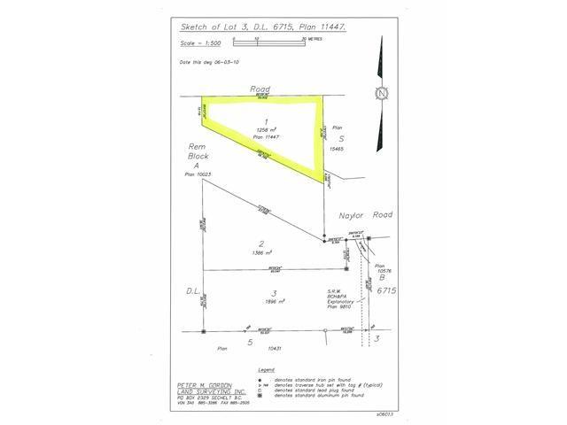 Photo 6: Photos: # LT 1 NAYLOR RD in Sechelt: Sechelt District Land for sale (Sunshine Coast)  : MLS®# V846640