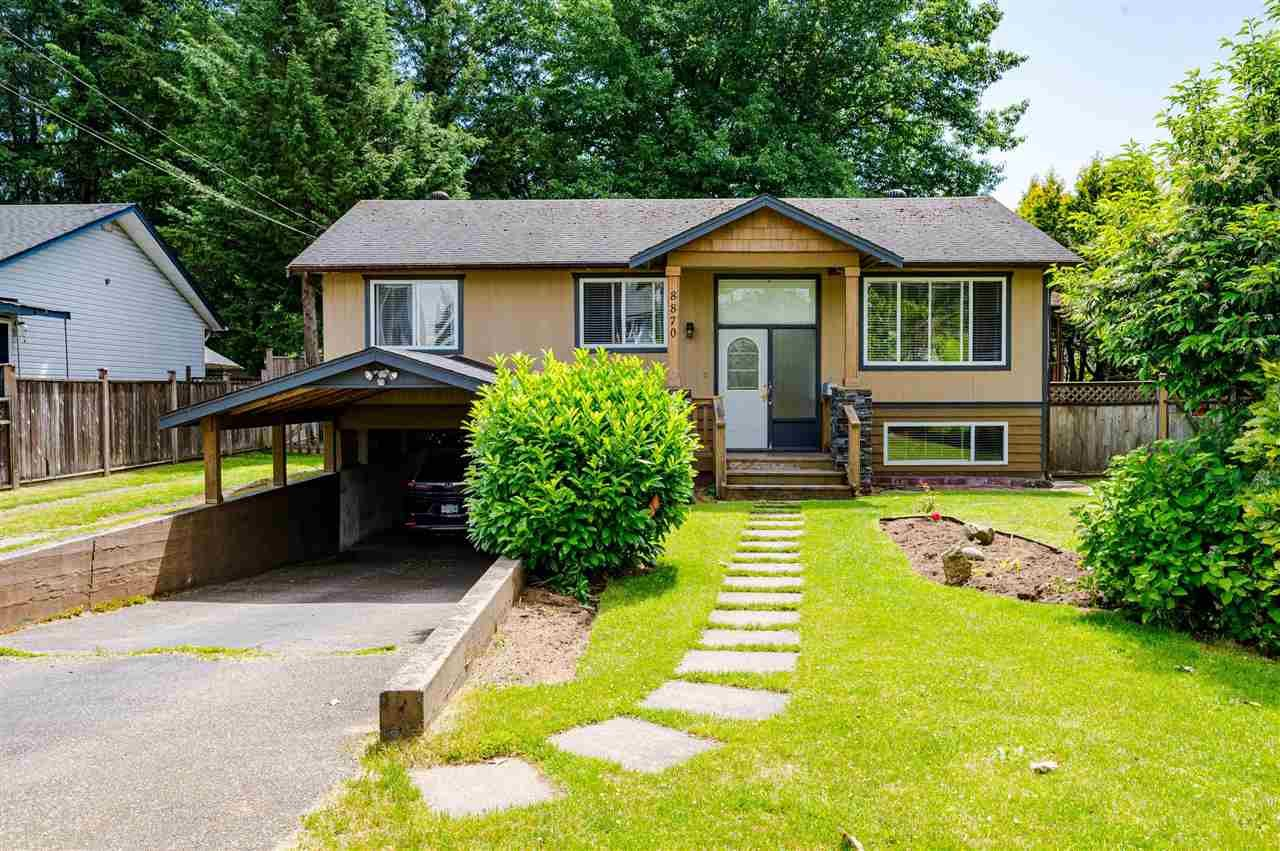 Main Photo: 8870 BARTLETT Street in Langley: Fort Langley House for sale : MLS®# R2591281