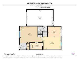 Photo 46: #84 2503 24 ST NW in Edmonton: Zone 30 House Half Duplex for sale