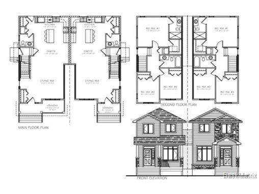 Photo 2: Photos: 901 11th Street West in Saskatoon: Holiday Park Duplex for sale (Saskatoon Area 04)  : MLS®# 486715