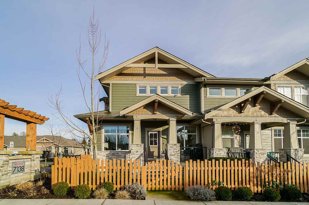 Main Photo: 1 7138 210 STREET in Langley: Willoughby Heights Townhouse for sale : MLS®# R2535299