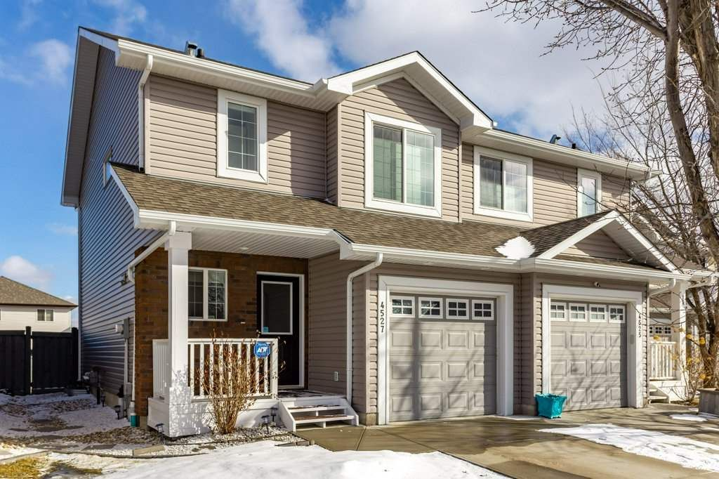 Main Photo: 4527 212A Street NW in Edmonton: Zone 58 House Half Duplex for sale : MLS®# E4232167