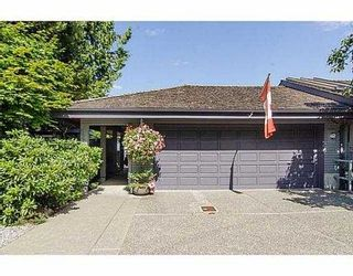 """Photo 18: 5257 ASPEN Crescent in West Vancouver: Upper Caulfeild Townhouse for sale in """"SAHALEE"""" : MLS®# V1023681"""