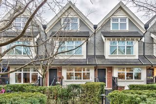 "Photo 1: 3850 WELWYN Street in Vancouver: Victoria VE Townhouse for sale in ""Stories"" (Vancouver East)  : MLS®# R2136564"