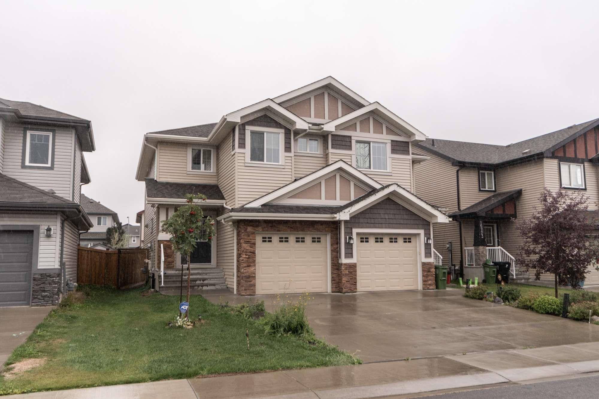 Main Photo: 16727 120 Street in Edmonton: Zone 27 House Half Duplex for sale : MLS®# E4259975