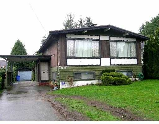 """Main Photo: 6260 ROYAL OAK Ave in Burnaby: Forest Glen BS House for sale in """"FOREST GLEN"""" (Burnaby South)  : MLS®# V643851"""