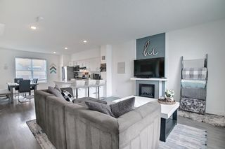 Main Photo: 166 Silverado Boulevard SW in Calgary: Silverado Row/Townhouse for sale : MLS®# A1097785