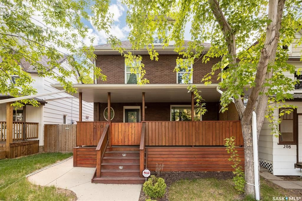 Main Photo: 210 26th Street West in Saskatoon: Caswell Hill Residential for sale : MLS®# SK858566