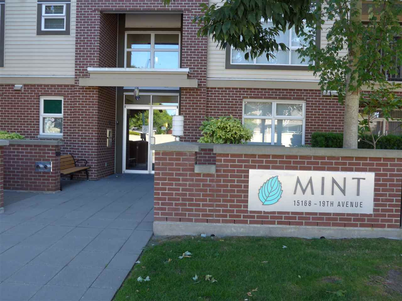 "Main Photo: 107 15168 19 Avenue in Surrey: Sunnyside Park Surrey Condo for sale in ""The Mint"" (South Surrey White Rock)  : MLS®# R2493353"