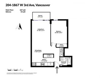 Photo 16: 204 1867 W 3RD AVENUE in Vancouver: Kitsilano Condo for sale (Vancouver West)  : MLS®# R2440563