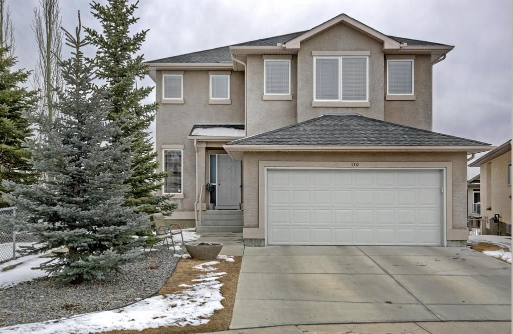 Main Photo: 170 Everglade Way SW in Calgary: Evergreen Detached for sale : MLS®# A1086306
