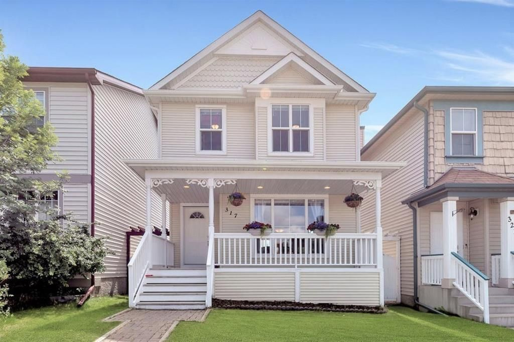 Charming exterior touches with inviting front porch.