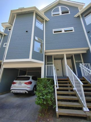 """Main Photo: 9066 MOORSIDE Place in Burnaby: Forest Hills BN Townhouse for sale in """"Mountain Gate"""" (Burnaby North)  : MLS®# R2602196"""