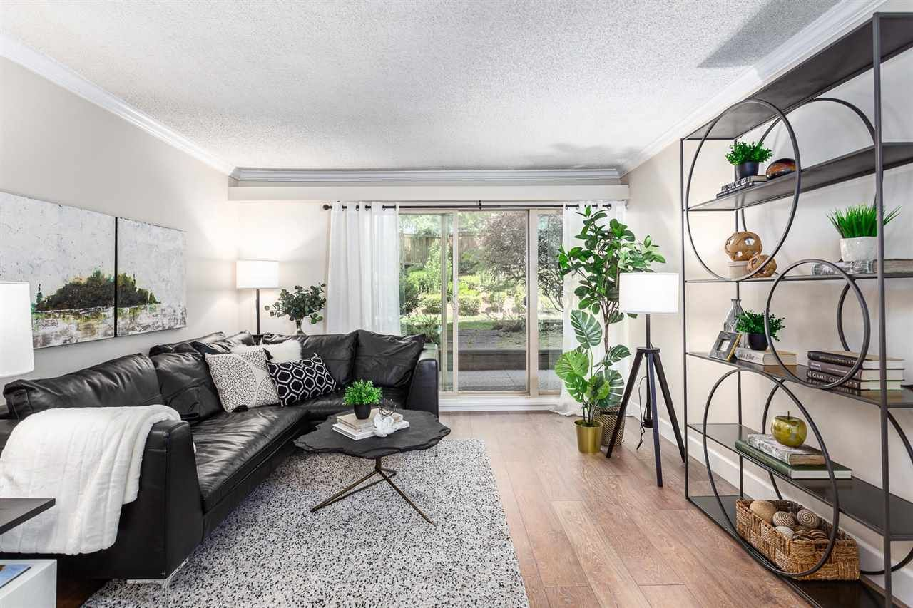 """Main Photo: 416 9867 MANCHESTER Drive in Burnaby: Cariboo Condo for sale in """"BARCLAY WOODS"""" (Burnaby North)  : MLS®# R2585423"""