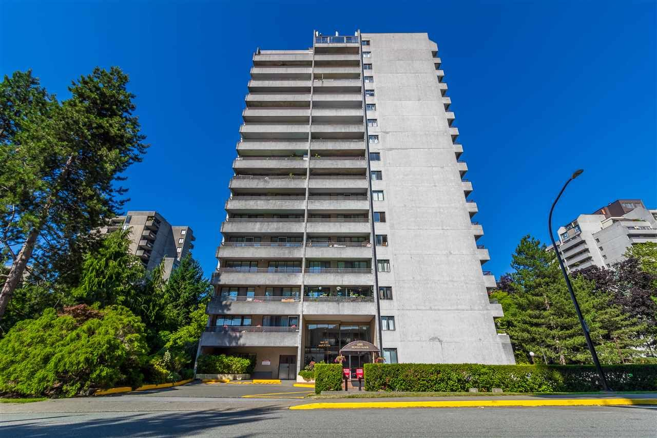 "Main Photo: 1204 6595 WILLINGDON Avenue in Burnaby: Metrotown Condo for sale in ""HUNTLY MANOR"" (Burnaby South)  : MLS®# R2536954"