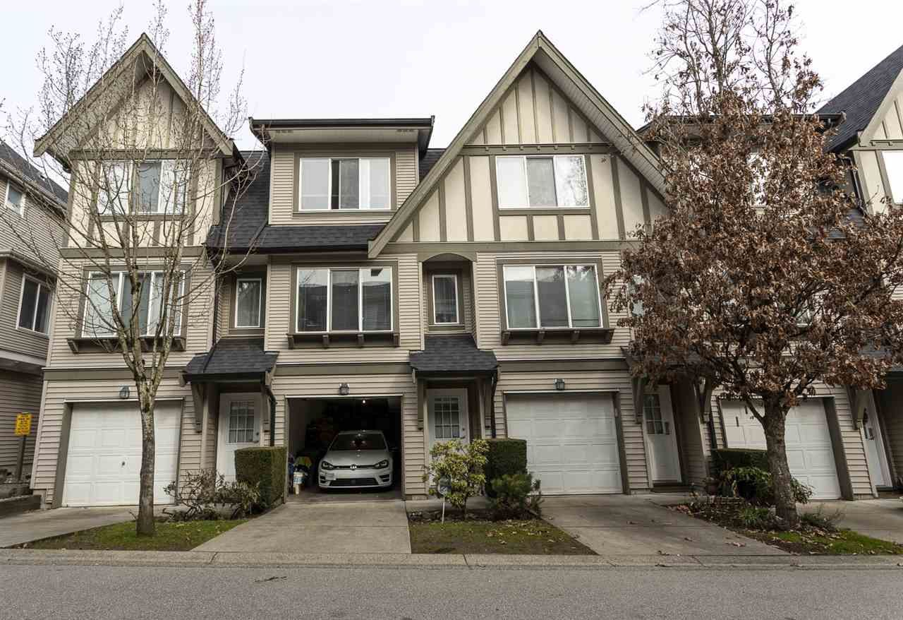 "Main Photo: 36 8775 161 Street in Surrey: Fleetwood Tynehead Townhouse for sale in ""BALLANTYNE"" : MLS®# R2550685"