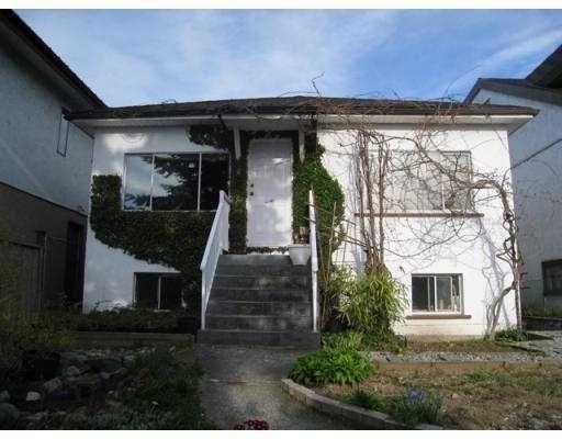 Main Photo: 2168 RENFREW Street in Vancouver: Renfrew VE House for sale (Vancouver East)  : MLS®# V762993