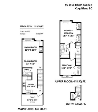 """Photo 21: 6 1561 BOOTH Avenue in Coquitlam: Maillardville Townhouse for sale in """"THE COURCELLES"""" : MLS®# R2542145"""