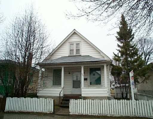 Main Photo: 731 MAGNUS Avenue in Winnipeg: North End Single Family Detached for sale (North West Winnipeg)  : MLS®# 2504508