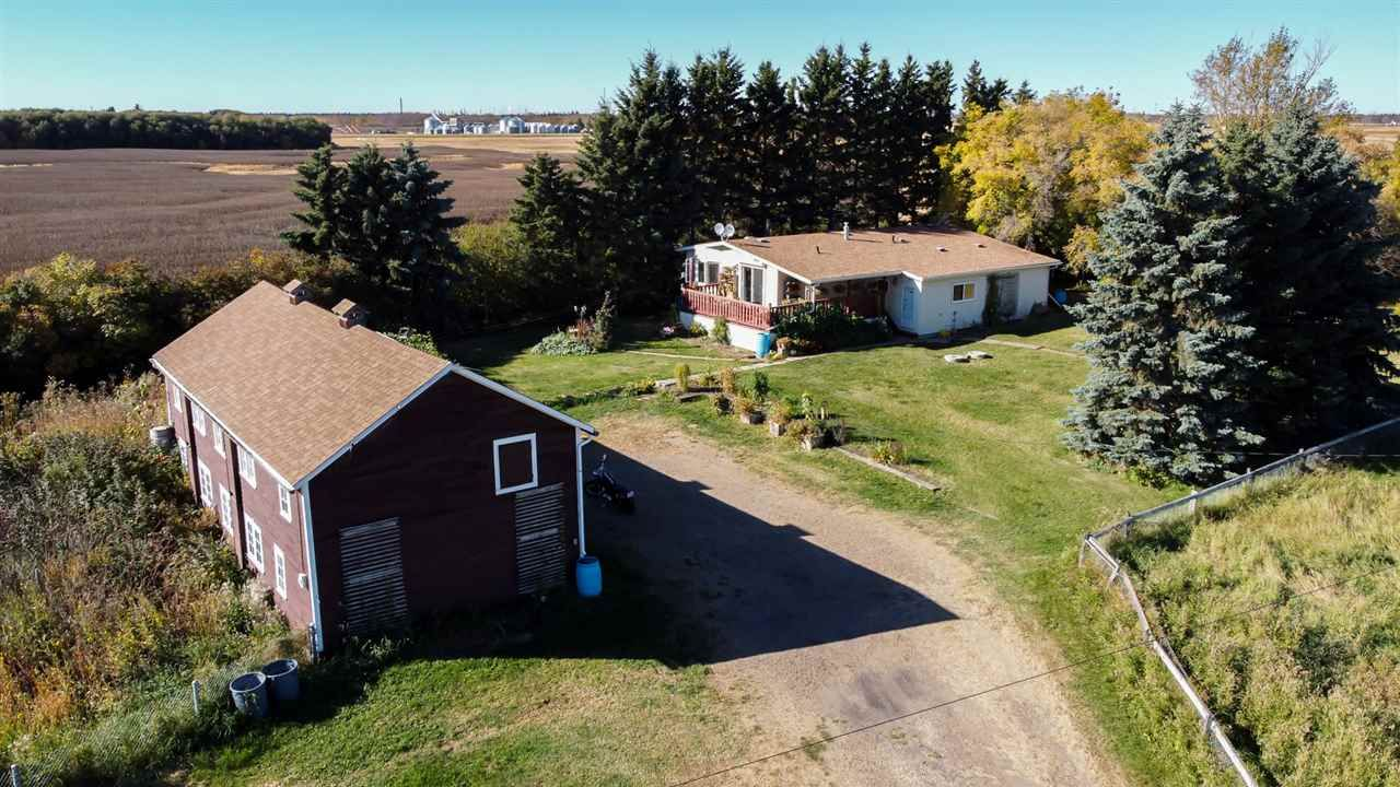 Main Photo: 20548 Township Road 560: Rural Strathcona County Manufactured Home for sale : MLS®# E4227431