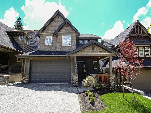 """Main Photo: 3384 HORIZON Drive in Coquitlam: Burke Mountain House for sale in """"SOUTHVIEW"""" : MLS®# V1007376"""