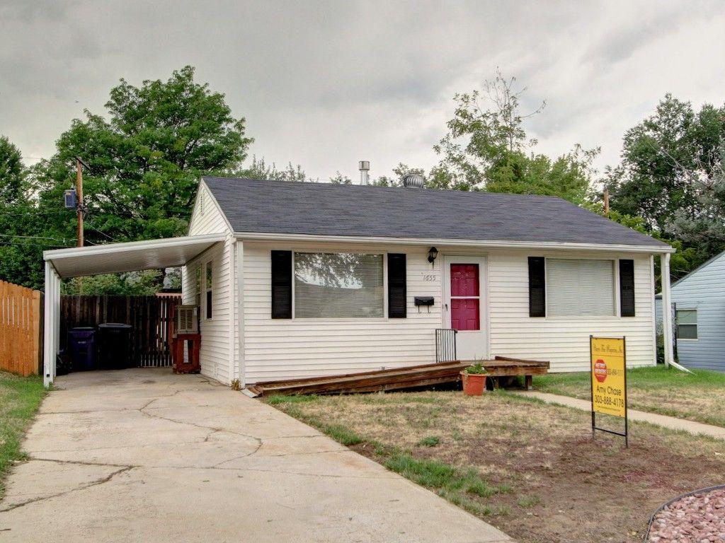 Main Photo: 1655 S. Raritan Street in Denver: House for sale (Gunnison Heights)  : MLS®# 1216565