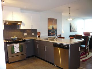 "Photo 1: 906 14 BEGBIE Street in New Westminster: Quay Condo for sale in ""Interurban"" : MLS®# R2205240"