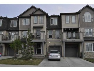 Photo 1: 64 WINDSTONE Green SW: Airdrie Townhouse for sale : MLS®# C3629867