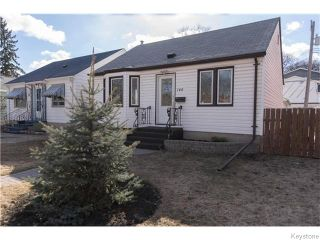 Photo 1: 140 Aubrey Street in Winnipeg: West End / Wolseley Residential for sale (West Winnipeg)  : MLS®# 1608340