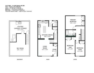 Photo 2: 51 630 Sabrina Road SW in Calgary: Southwood Row/Townhouse for sale : MLS®# A1154291