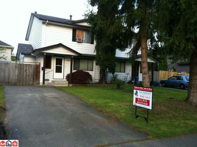 Main Photo: 9464 132A Street in Surrey: Queen Mary Park Surrey 1/2 Duplex for sale : MLS®# F1212451