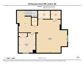 Photo 37: 106 Reunion Green NW: Airdrie Detached for sale : MLS®# A1065745