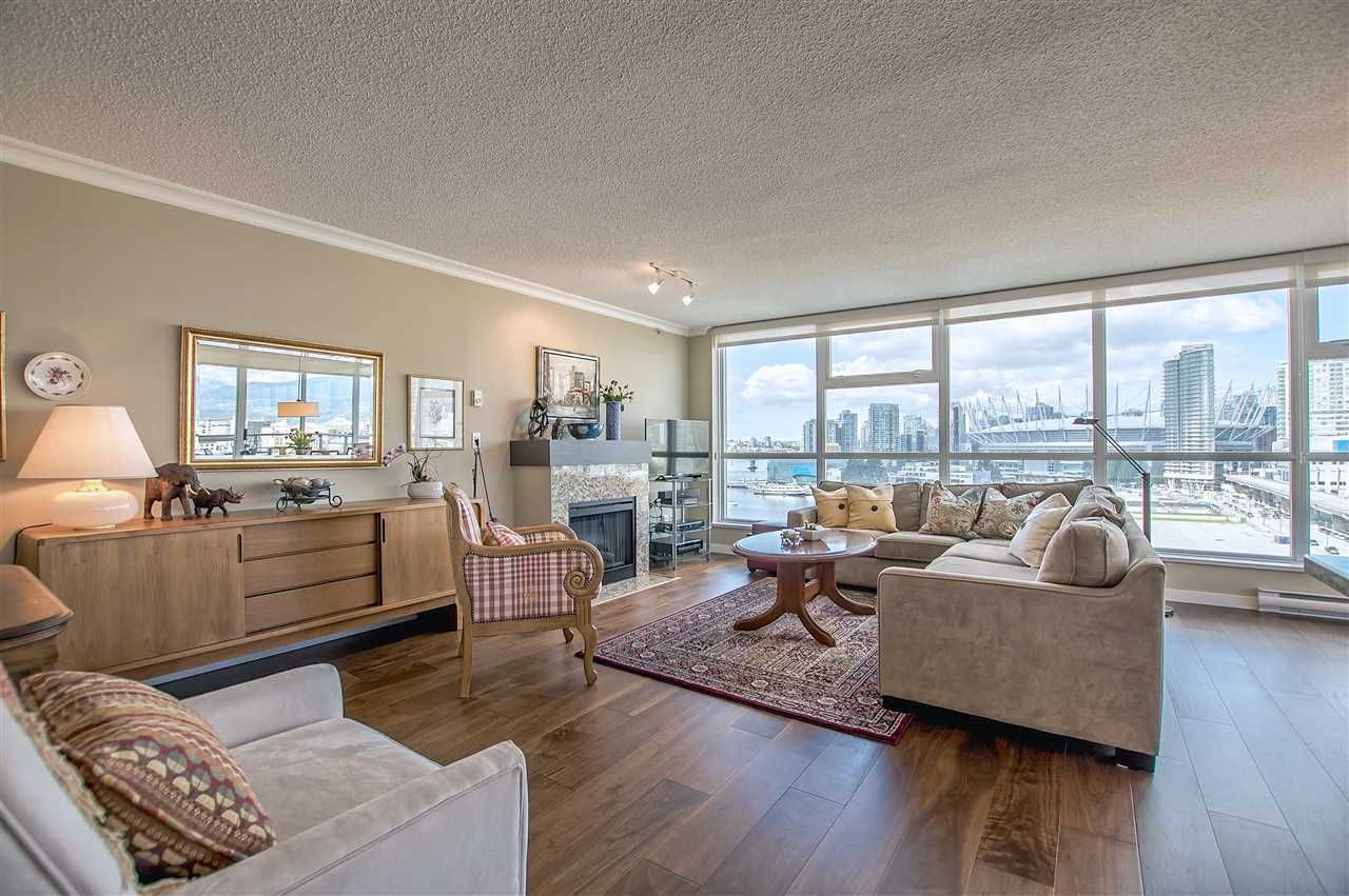 """Main Photo: 1206 125 MILROSS Avenue in Vancouver: Mount Pleasant VE Condo for sale in """"CREEKSIDE"""" (Vancouver East)  : MLS®# R2159245"""