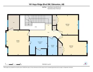 Photo 46: 161 HAYS RIDGE Boulevard in Edmonton: Zone 55 Attached Home for sale : MLS®# E4260312