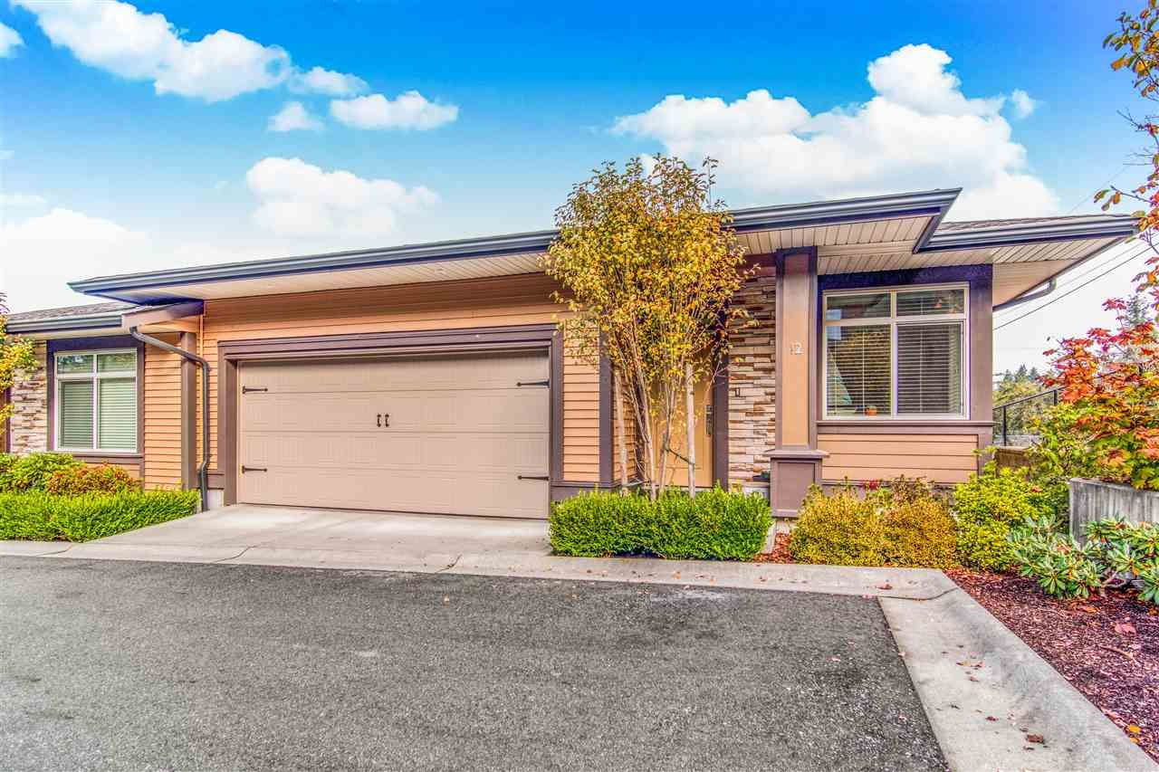 """Main Photo: 12 35846 MCKEE Road in Abbotsford: Abbotsford East Townhouse for sale in """"SANDSTONE RIDGE"""" : MLS®# R2505924"""