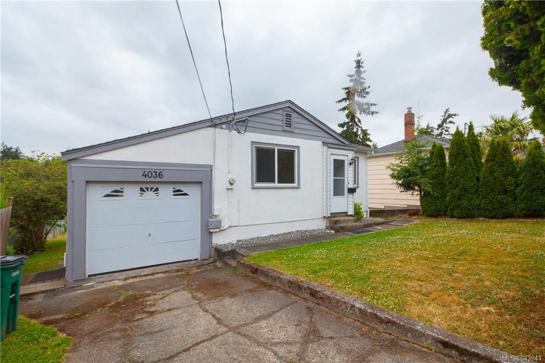 Main Photo: 4036 Carey Rd in Saanich: SW Marigold House for sale (Saanich West)  : MLS®# 843941