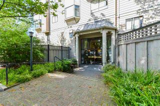 "Photo 1: 407 777 EIGHTH Street in New Westminster: Uptown NW Condo for sale in ""Moody Gardens"" : MLS®# R2479408"