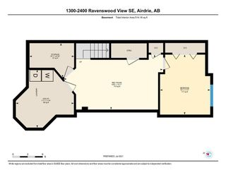 Photo 20: 1310 2400 Ravenswood View SE: Airdrie Row/Townhouse for sale : MLS®# A1131588